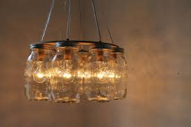 wagon wheel mason jar chandelier mason jar chandelier for