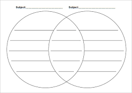 venn diagram templates   sample  example  format download    the venn diagram template   lines allows user to enter detailed information into the circle on a straight line  this gives clarity on the data and people