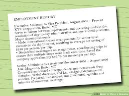 Resume Font Inspiration 60 Ways To Make A Resume WikiHow