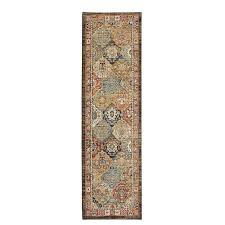 home decorators collection patchwork medallion multi 2 ft x 7 ft runner rug