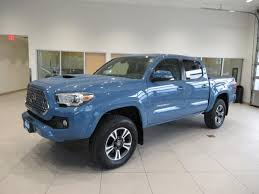 New 2019 Toyota Tacoma Truck Double Cab TRD Sport V6 Cavalry Blue ...