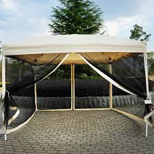 Full Size of Outdoor:fascinating Screened Gazebo Tent Q Outdoor Marvelous  Screened Gazebo Tent 1 ...
