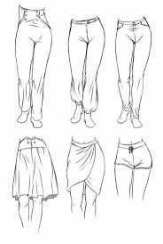 Pants Drawing Reference Simple Clothing Sketch Studies Drawings Drawing Clothes Art