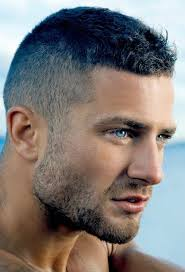 short haircut for men with thick hair caesar hairstyles