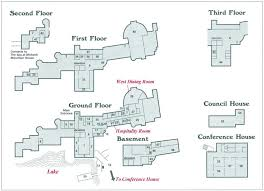 Program of WASPAA Mohonk Mountain House Floor Plan