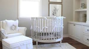 Round cribs have a more compact footprint than traditional cribs and are a  lot less bulky. Round options tend to be more sleek and don't look heavy at  all, ...