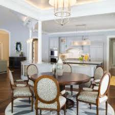 french country dining room painted furniture. Gray \u0026 White Dining Room With Floral Accents, Eye-Catching Chairs Round Table French Country Painted Furniture