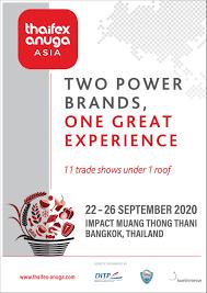 THAIFEX-ANUGA ASIA 2020 The Hybrid Edition (22 - 26 ก.ย. 2563) IMPACT  เมืองทองธานี