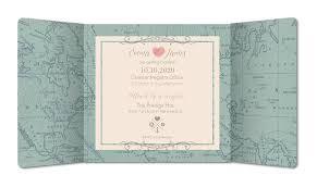 Wedding Invitation Vintage World Map Planet Cardscouk