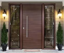 modern wood front doors with glass the best option wooden entry doors modern wood front