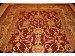 mix of cherry red and gold persian rug 9 x 12 vegetable dyed red
