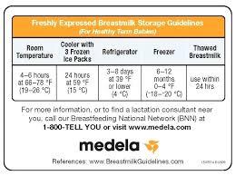 Breast Milk Rules Chart Medela Breast Milk Storage Storage Solution Storage Solution