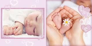 Baby Photo Album Books Flourish Baby Album Template Flb1 Creative Photoshop Templates For