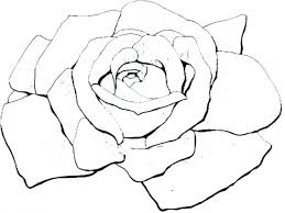 Roses Printable Coloring Pages Rose For Adults Of And Hearts Free