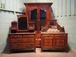 edwardian mahogany bedroom furniture. antique edwardian mahogany walnut bedroom suite double wardrobe dressing table chest and washstand cabinet c1900 w6380214 furniture