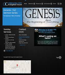 Web Design Oregon City Oregon City Evangelical Church Competitors Revenue And