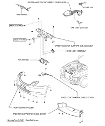 repair guides radiator removal installation autozone com fig front bumper assembly and related components 2006 gs 300