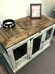 furniture style dog crate. Furniture Style Dog Crates Side Table Crate Kennel Plans Best Ideas That You Will Like D