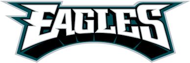 Number Letter Logos com 3 Iron-on Logo Eagles 2 Philadelphia Wordmark Lettersdiy Word Cad - 1996-pres 00