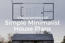 minimalist house plans. Contemporary House Characteristics Of Simple Minimalist House Plans View Larger Image   Intended Plans T