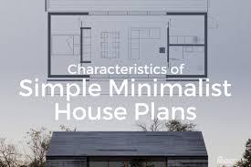 characteristics of simple minimalist house plans view larger image characteristics