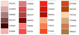 Marketing Color Chart Taxi Digital Marketing Website Color Scheme Chart