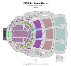 Adrienne Arsht Seating Chart Kambali Blog Ziff Ballet Opera House