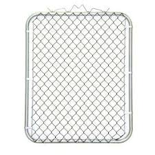 Chain link fence post sizes Mesh 38 In The Chart Information Chain Link Fence Gates Chain Link Fencing The Home Depot