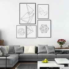 2018 modern nordic minimalist black white geometric shape a4 large art prints poster abstract wall picture canvas painting home decor from shengzhenming  on wall art black and white photography with 2018 modern nordic minimalist black white geometric shape a4 large