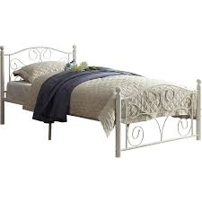 metal twin platform bed. Modren Twin Picture 2 Of 2 Abigail Metal Platform Bed And Twin A