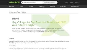 groupon searchlight events offer freebies at top new york city businesses tonight business wire