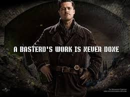 best inglourious basterds images inglourious  inglourious basterds brad pitt as aldo the apache