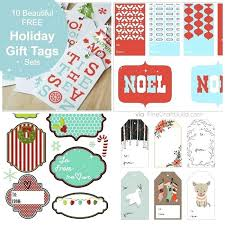 Christmas Gift Labels Templates Word Holiday Gift Tags Templates Word Free Pretty Printable Tag