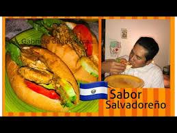 panes con pollo salvadoreÑos receta