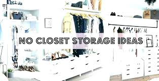 storage ideas for house with no closets marvellous clothing storage ideas no closet incredible clothes storage