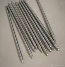 <b>6mm</b>*200mm SUS304 Food Grade One End Pointed Head Closed ...