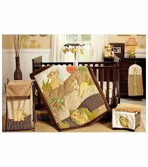 disney lion king 7 piece crib bedding set