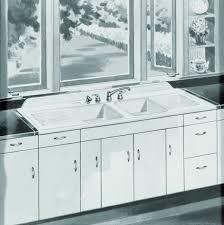 1940 Kitchen Decor Installing Antique Iron Kitchen Sink With Drainboard Home Design