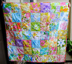 Hideaway Girl: Couple-O-Vintage Sheet Quilts & Couple-O-Vintage Sheet Quilts Adamdwight.com