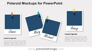 free polaroid frames for powerpoint blank frames