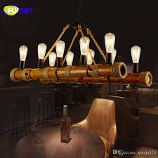 fumat vintage chandelier rope lamp loft restaurant bar hanging light fixtures american retro suspension lamps bamboo chandeliers antler chandeliers bathroom