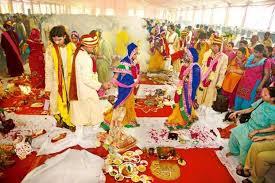 photo essay wedding bells slideshow livemint hindu couples during the ceremony