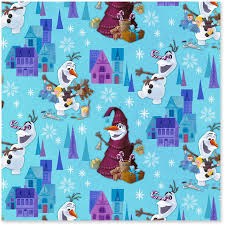 Disney Olaf S Frozen Adventure Jumbo Christmas Wrapping Paper Roll