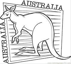 Animals Coloring Pages Page For Kids Aboriginal Animal Animals