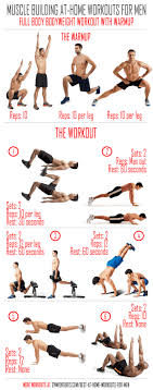 at home workouts for men full bodyweight workout