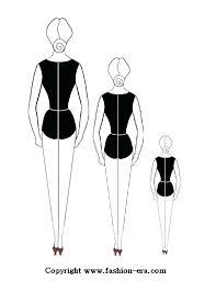 Fashion Design Silhouette Template Atlasappco
