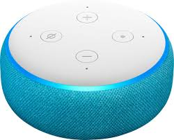 Amazon Echo Dot Kids Edition Smart Speaker with Alexa Blue ...