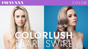 How To Pravana Silver Blonde Hair With Colorlush