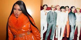 BTS and Megan Thee Stallion are ...