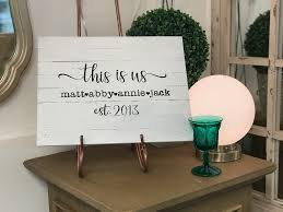 diy work this is us custom pallet sign with chalk paint